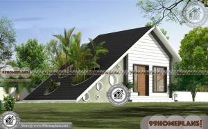 One Bedroom House Plans | American Style Modern Home Collections