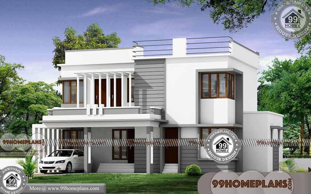 Simple 4 Bedroom House Plans with Double Story Ultra ...