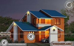 Simple Brick House Plans with Double Story Gorgeous Home Collections