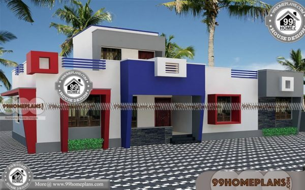Single Story Contemporary Home Plans | Very Attractive House Models