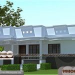 Single Story Home Design Collections Free | 1250 sq ft Modern Plan Ideas