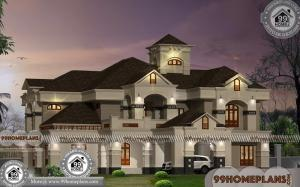 Small Bungalow with Exterior Designs   Low Budget Awesome Collections