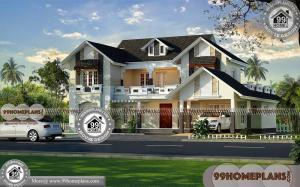Small House Design Ideas | Two Floor Traditional Home Plan Collections