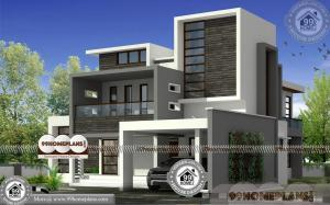 Small Modern Bungalow House With Double Story Low Budget Collections