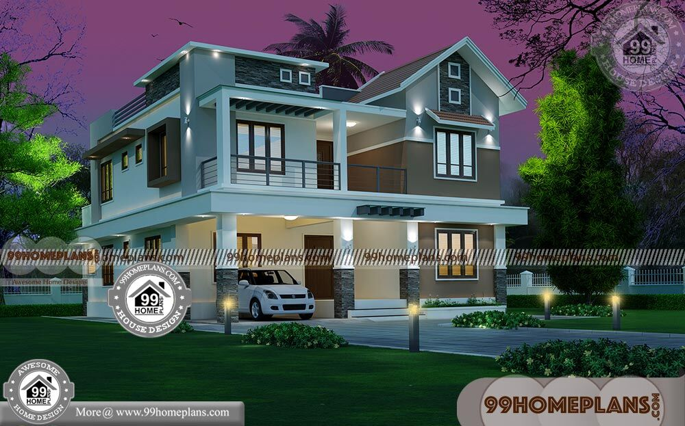 Small Modern Home Designs Floor Plans Two Storey Traditional Image