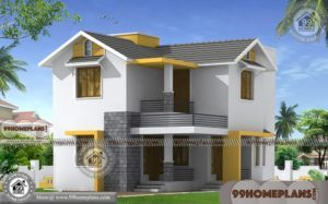 Small Modern Homes Design Collections   Two Floor Traditional City Villas