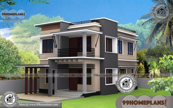 Small Modern House Designs With 3d Elevations Box Type