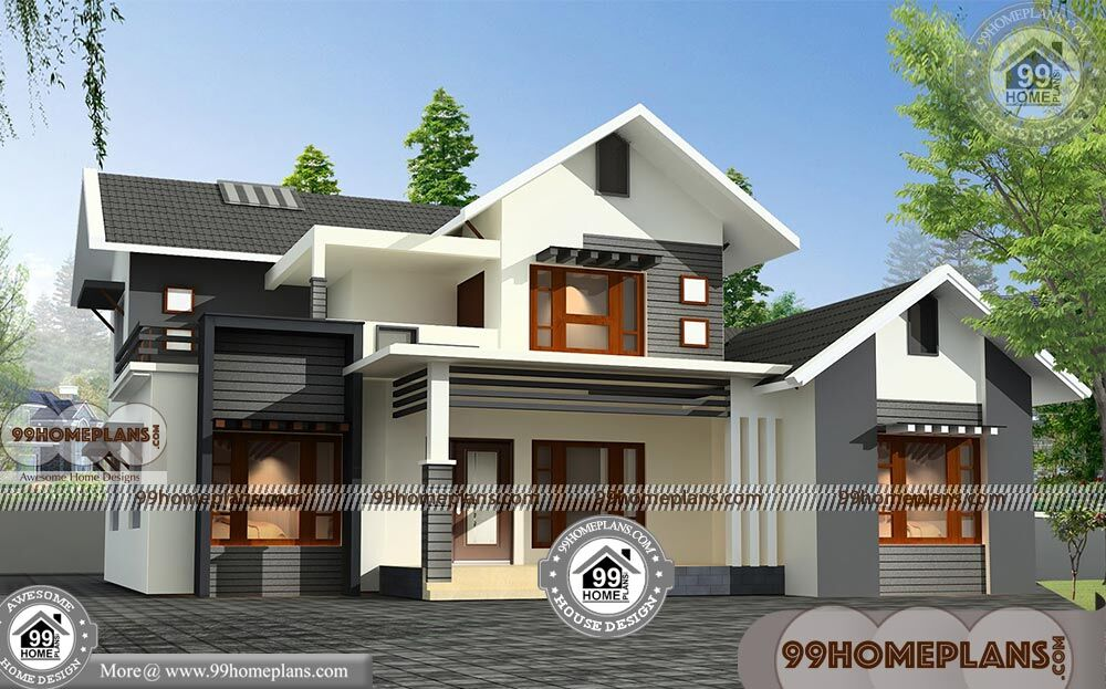 Small Modern House Two Floor