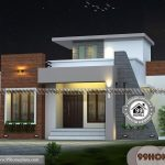 Small Two Storey House Design with 3D Elevations | Low Cost Collections
