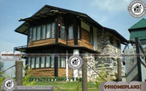 Small Wooden House Design & Cottages | Less Expense Stylish Collection