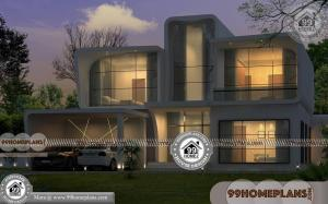 South African Double Storey House Plans | Low Budget Modern Designs