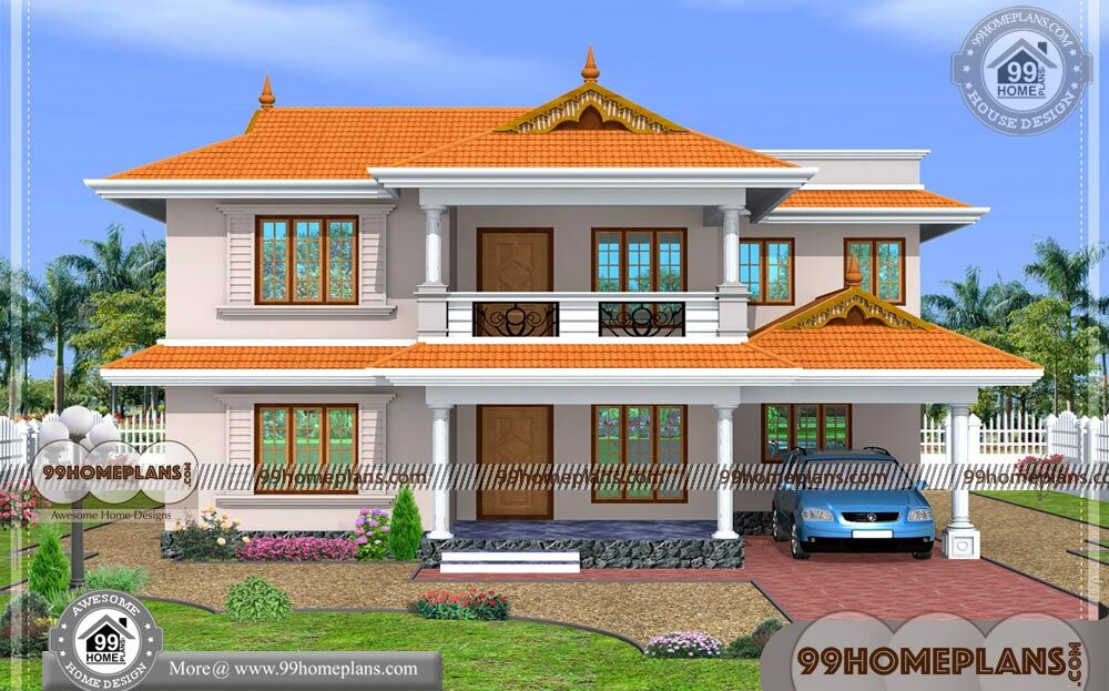 South Indian House Design with Kerala Traditional House ...