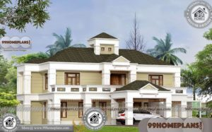 South Indian House Exterior Designs | Best 450+ Modern Home Pictures