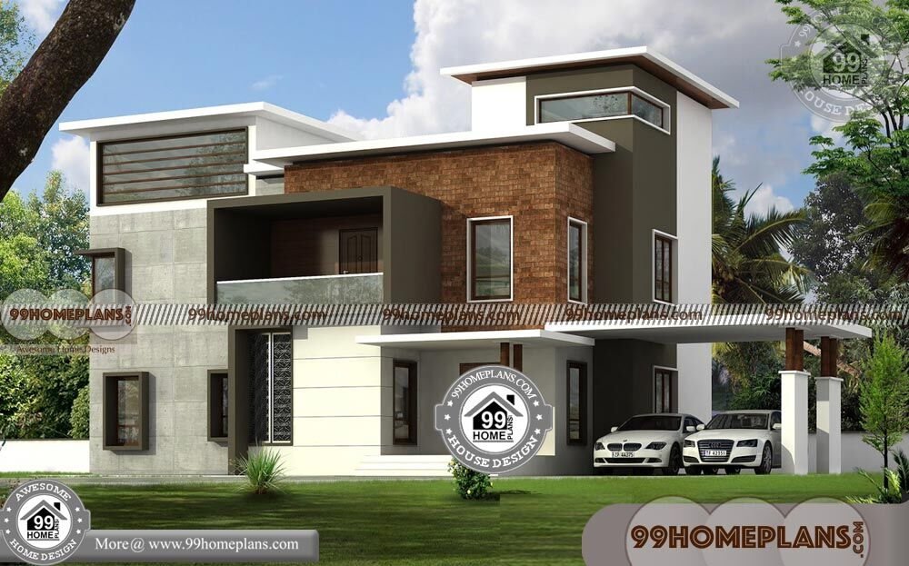 Low Cost Two Storey House Design: Two Storey House Design With Floor Plan Collections