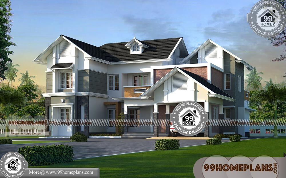 Types Of House Styles Best Two Story Traditional Home Design Pictures