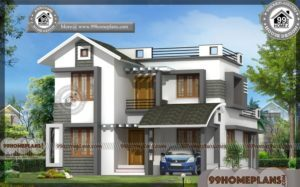 Vastu Shastra For Home | Two Story Contemporary Style House Designs