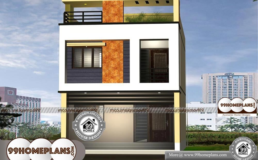 10m Narrow Block House Designs