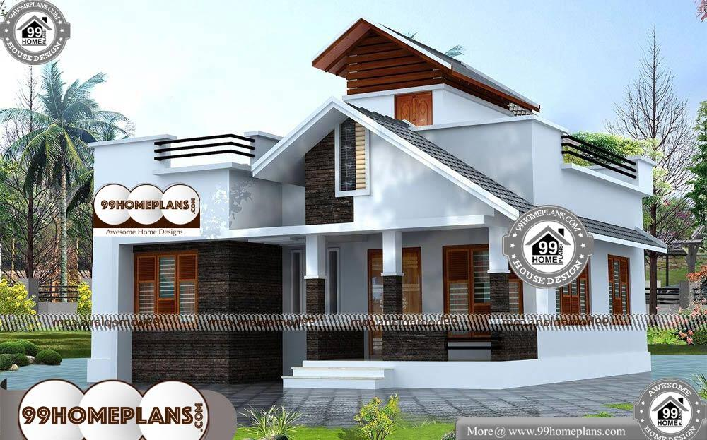 1st Floor House Plan - Single Story 800 sqft-Home