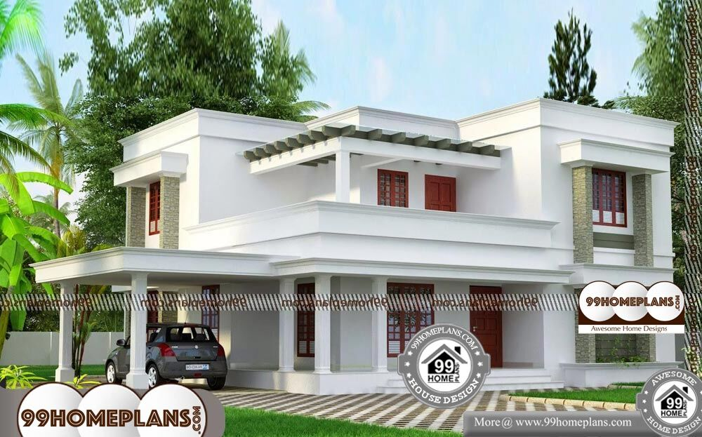2 BHK House Plans 30x40 - 2 Story 1900 sqft-Home