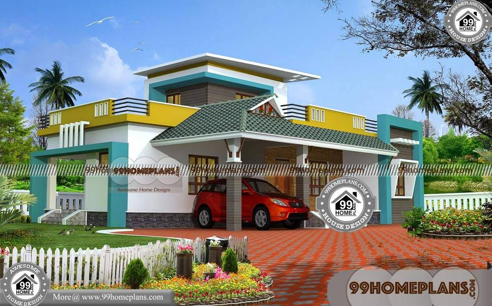 2 bedroom house plans 3d view 70 double storey floor House plan 3d online