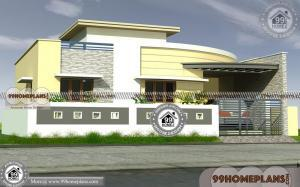 2 Bedroom Single Storey House Plans | Low Budget Home Design India
