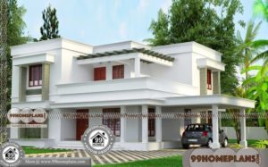 2 BHK House Plans 30x40, 2 Story Homes Low Budget Home Design India