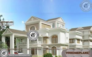 2 Story Modern House Designs | 90+ Modern Residential House Plans