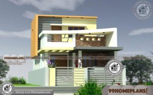25x40 House Plan with Low Budget Homes | Top 2 Storey Villa Designs