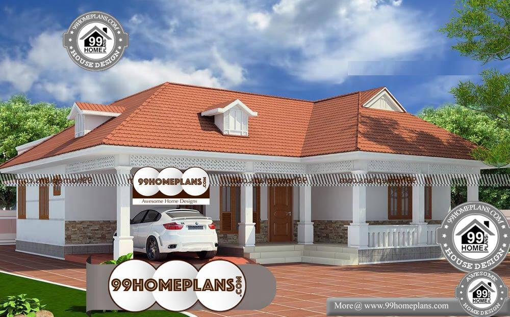 3 Bhk House Plan - Single Story 1850 sqft-Home