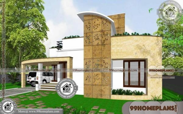 3 Bedroom House Floor Plans Single Story | Contemporary Kerala Homes