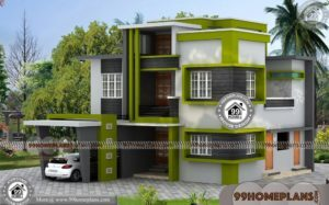3 Floor House Plans | 100 Kerala Model House Plans With Photos & Ideas