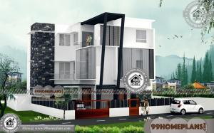 3 Story Apartment Building Plans | 100+ Contemporary Home Plans Kerala