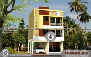 3 Story House Plans Small Lot | 35+ Modern Kerala Luxury Home Designs