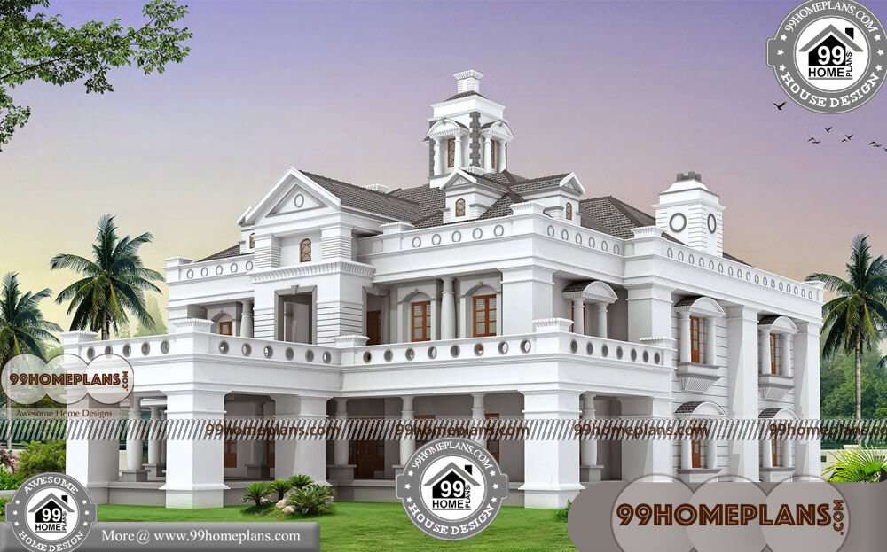 30 50 House Plans East Facing Two Story House Plans With Balconies