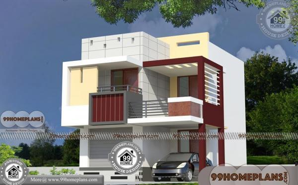 35x60 House Plans 290 Contemporary Low Cost House Design Plans