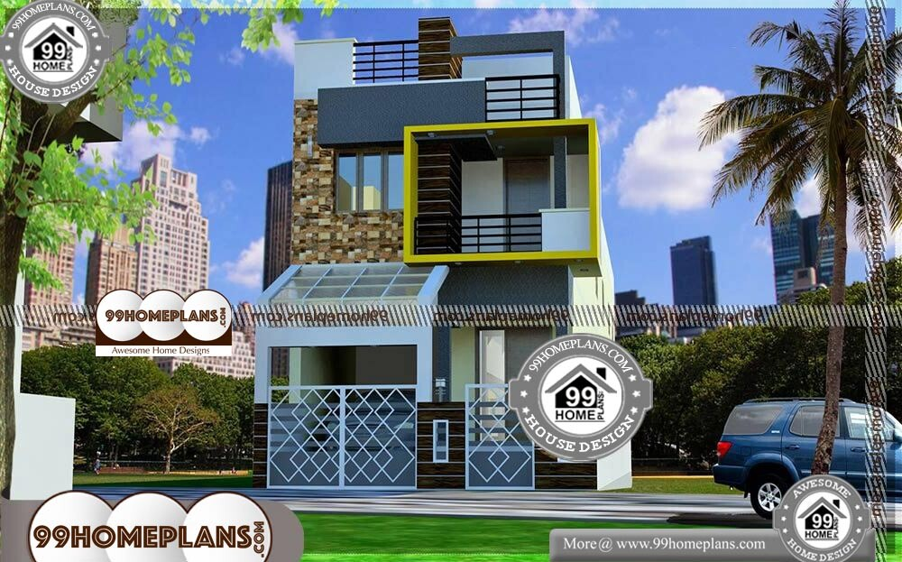 3d 3 Bedroom House Plans - 2 Story 3290 sqft-Home