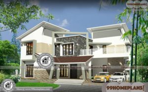 3D Elevation of Indian House   Two Floor House Design 90+ Collections