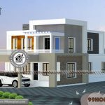 3d Exterior Home Design with 100+ Double Floor Home Design Plans