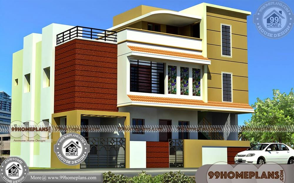 Front Elevation Design For 3bhk : D front elevation design collections online bhk
