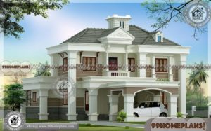 3d Home Design Online Free | 100+ Modern Small Two Story House Plans
