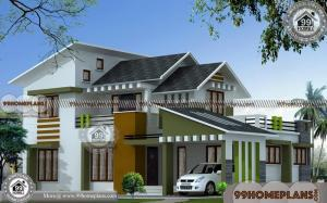 3d Home Design Online Free | Simple Two Storey House Design Plans