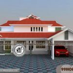 3d View Of House with 2 Storey House Design | 100+ Modern Floor Plans