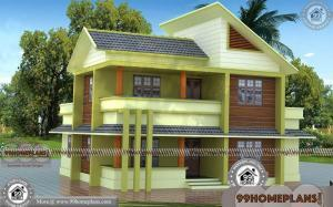 4 Bedroom House Designs with 3D Front Elevation Design Free Collection