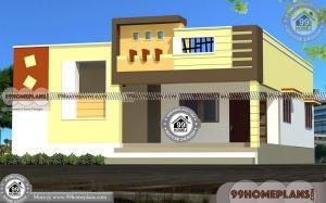40 40 House Plan | Low Cost House Plans With Photos In Kerala Style