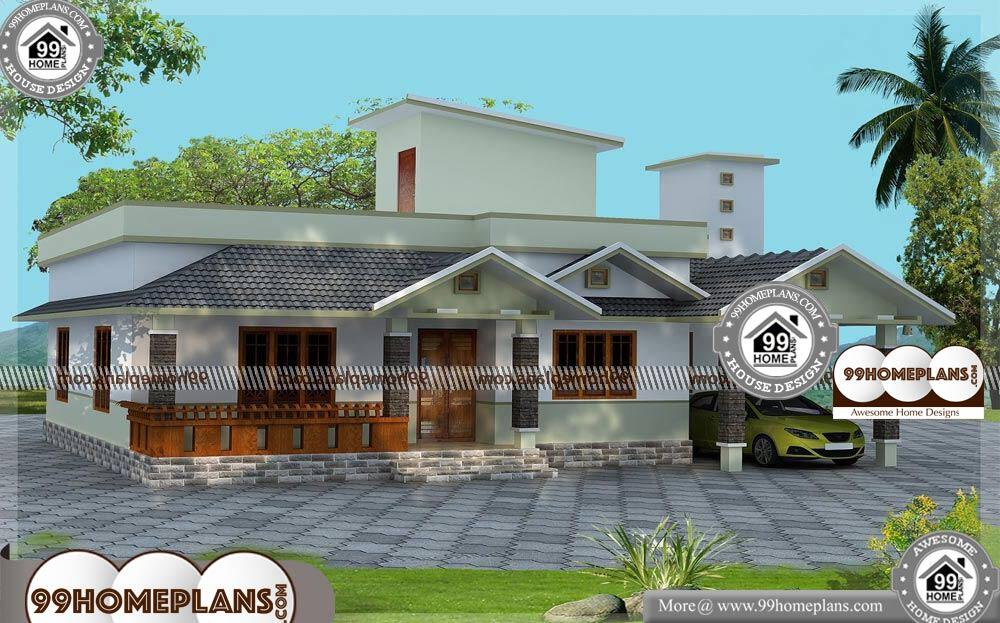 40 Ft Wide House Plans - Single Story 1220 sqft-Home