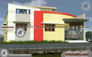40x40 House Plans | Veedu Plan Kerala Style with 3D Front Elevation Plan