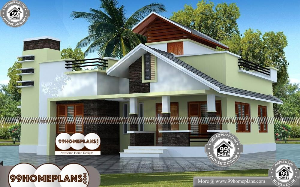 Amazing home designs kerala traditional home design 50 for Amazing one story homes