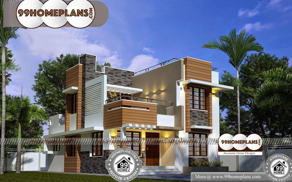 Beautiful Indian Homes | 100+ Modern Double Story House ...
