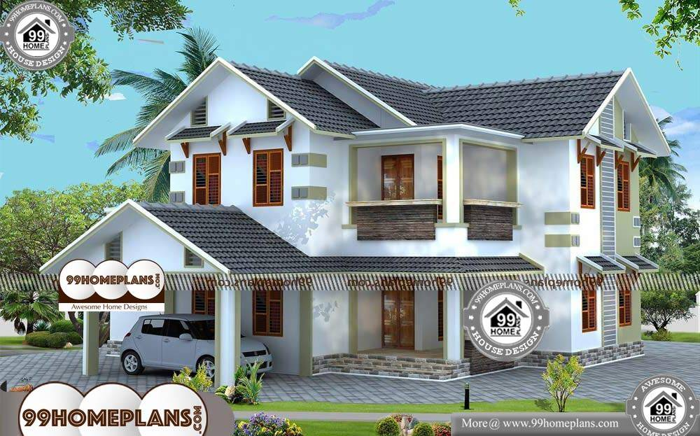Beautiful Small House Design - 2 Story 2300 sqft-Home