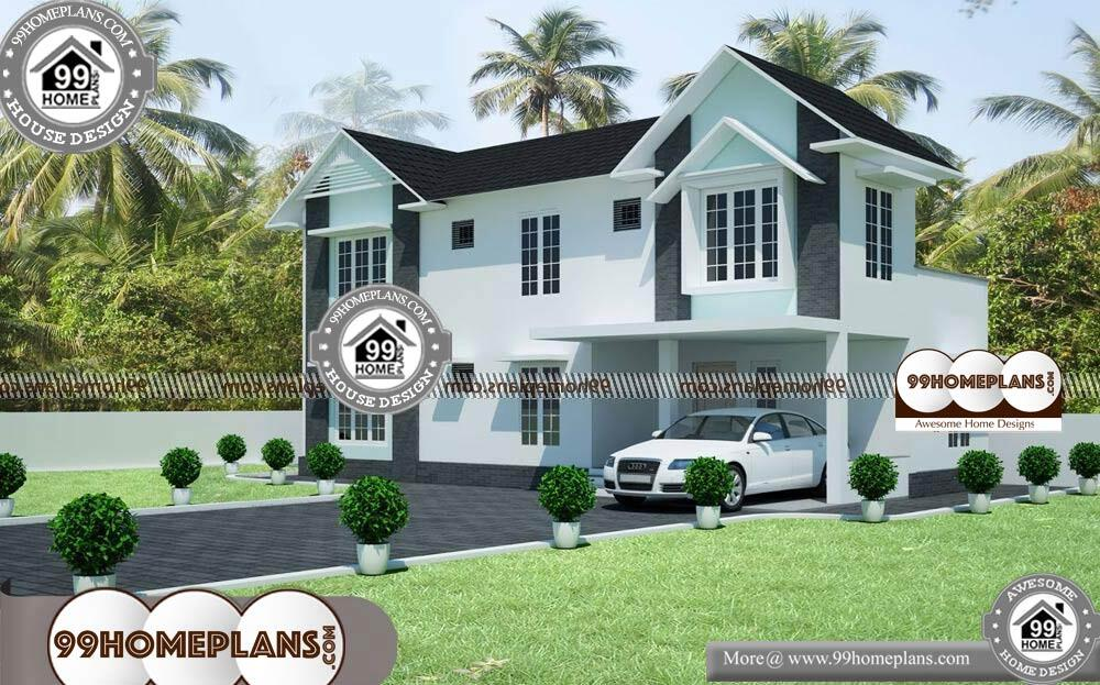 Best 3D Elevation of House | 25+ Small 2 Story House Floor ...